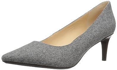 Nine West Women s SOHO, Light Grey Wool 7.5 Medium US 07c9172c61