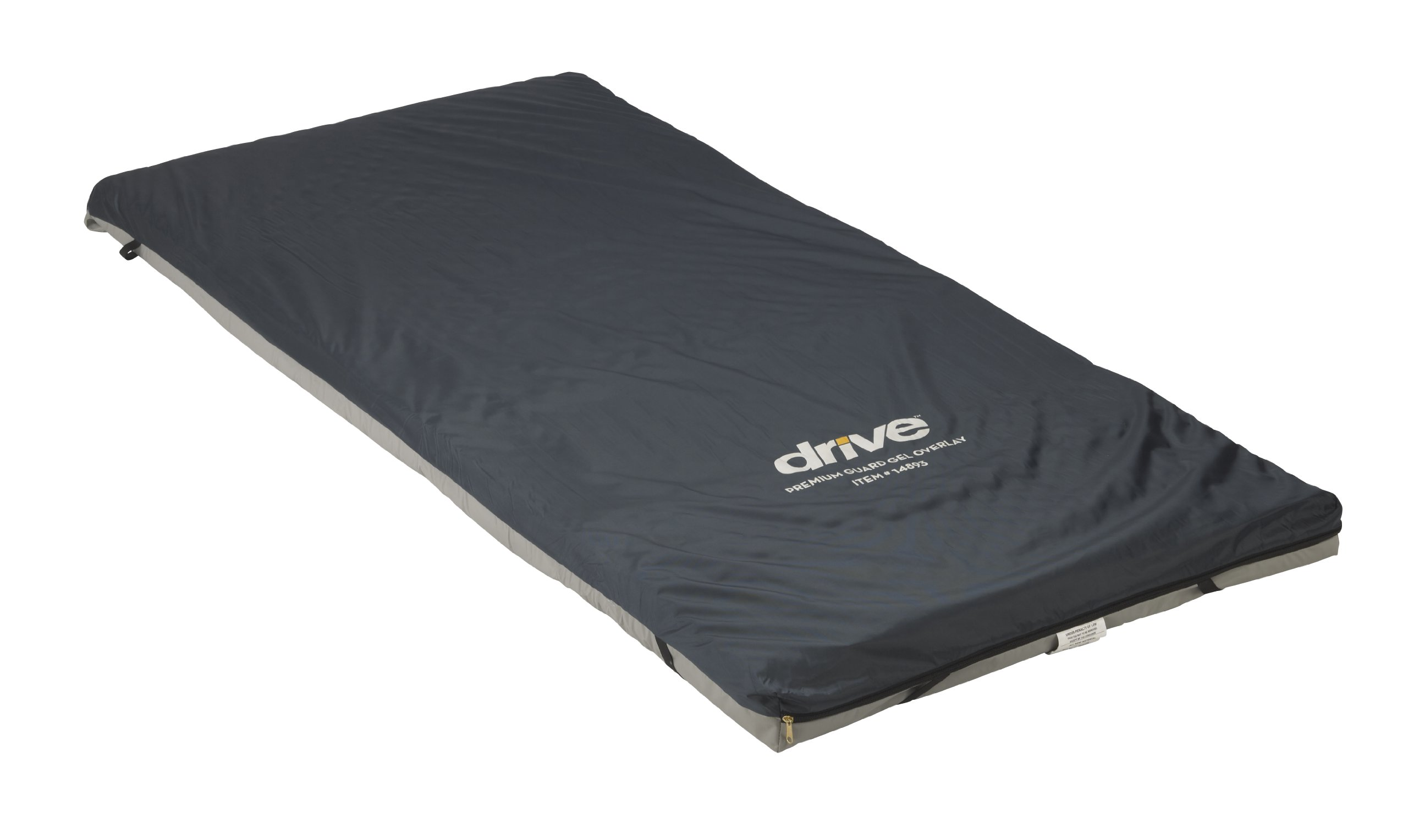 Drive Medical Premium Guard Gel Mattress Overlay, 3.5''x34''x76 by Drive Medical