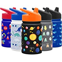 Simple Modern Insulated Sippy Cup for Toddlers Babies and Kids Splash Proof Dishwasher Safe Water Bottle, 10oz Stainless…
