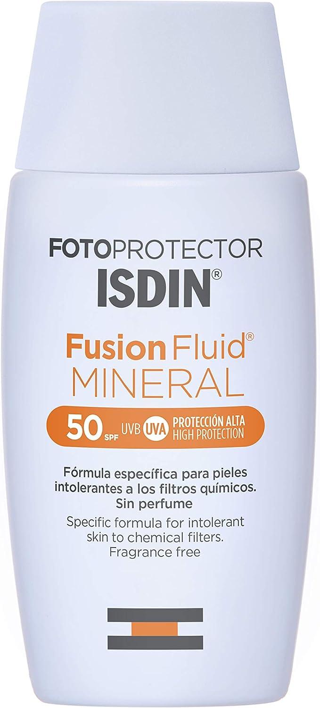 ISDIN Fotoprotector Fusion Fluid MINERAL SPF 50, Fotoprotección ...