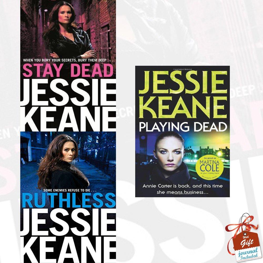 Annie Carter Series Jessie Keane Collection 3 Books Bundle (Stay Dead d2953e0d150