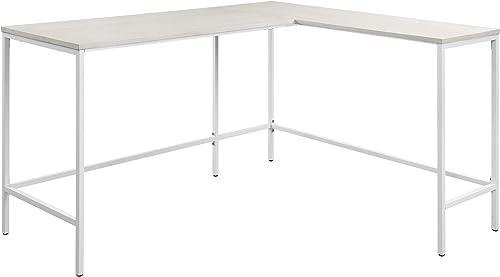 OSP Home Furnishings Contempo L-Shaped Desk