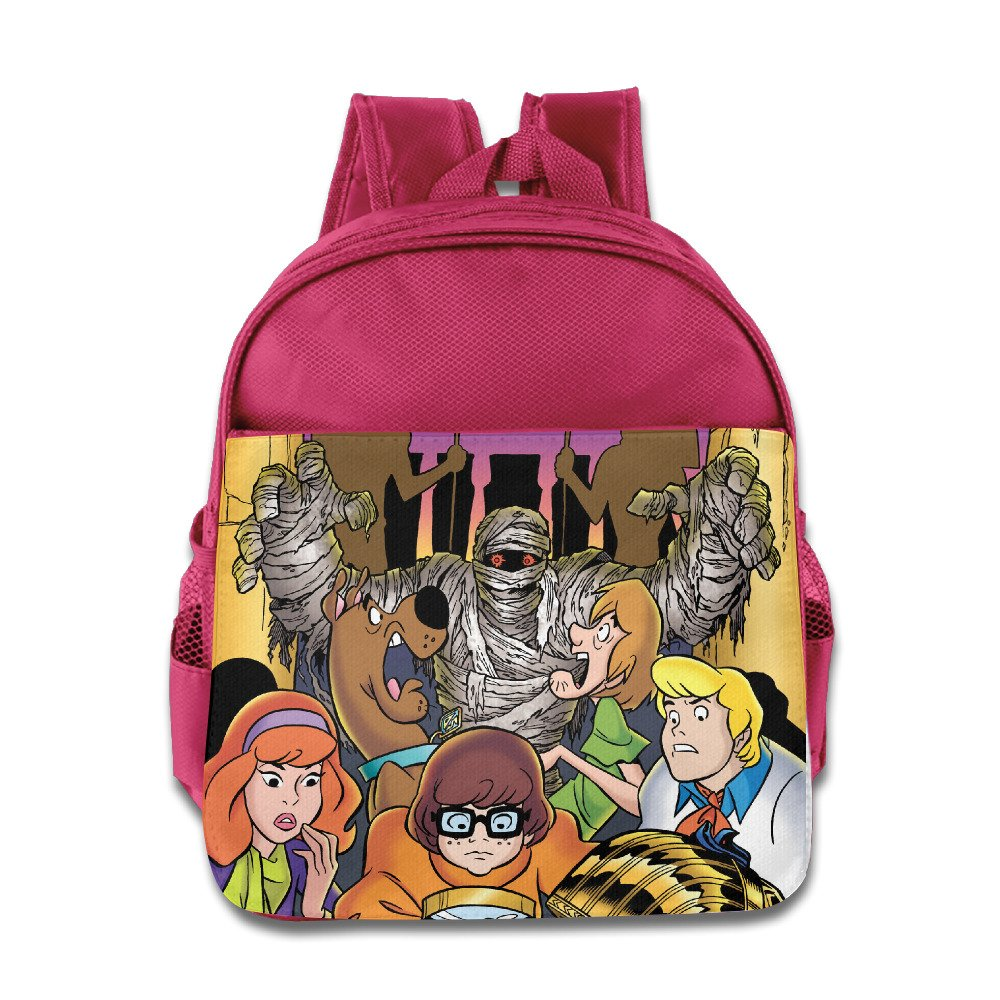 Kids Scooby Doo , Where Are You 。学校バックパックFunny Baby子供スクールバッグ B01KFYSUX4 ピンク One Size