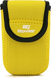 MegaGear MG1861 Ultra Light Neoprene Camera Case Compatible with Nikon Coolpix S7000, L32 - Yellow