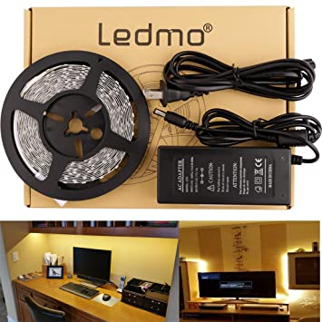 Daylight Strip Lights Amazon ledmo flexible led strip lights kit non waterproof ledmo flexible led strip lights kit non waterproof dc12v led light strips audiocablefo