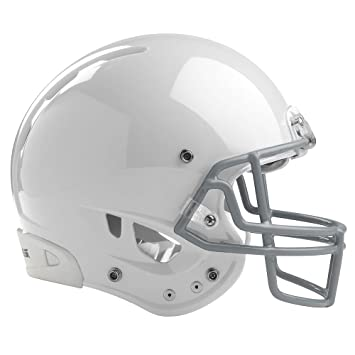 Rawlings Adultos Casco de fútbol Impulse - IMPULSEA-W-89, Blanco