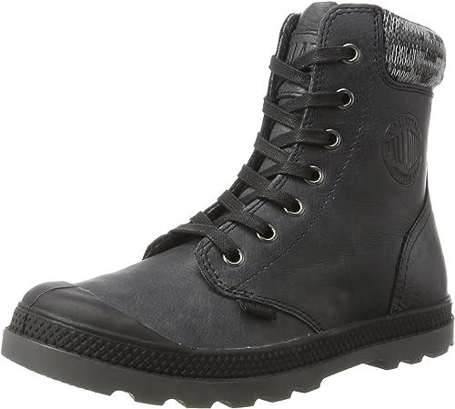 bequem Turnschuhe Stiefel Schuhe Leather WL Zip Pampa