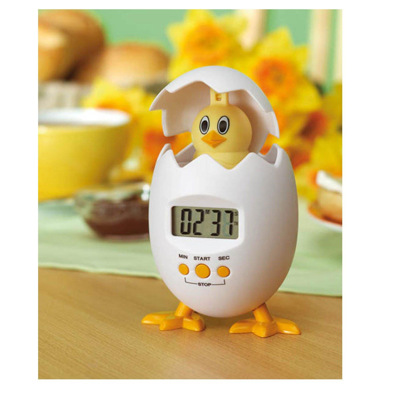 Kitchen Fun Novelty Egg Shaped Timer Cute Chicken Hen Chick Digital Countdown Buy Online In Germany At Desertcart De Productid 48936854