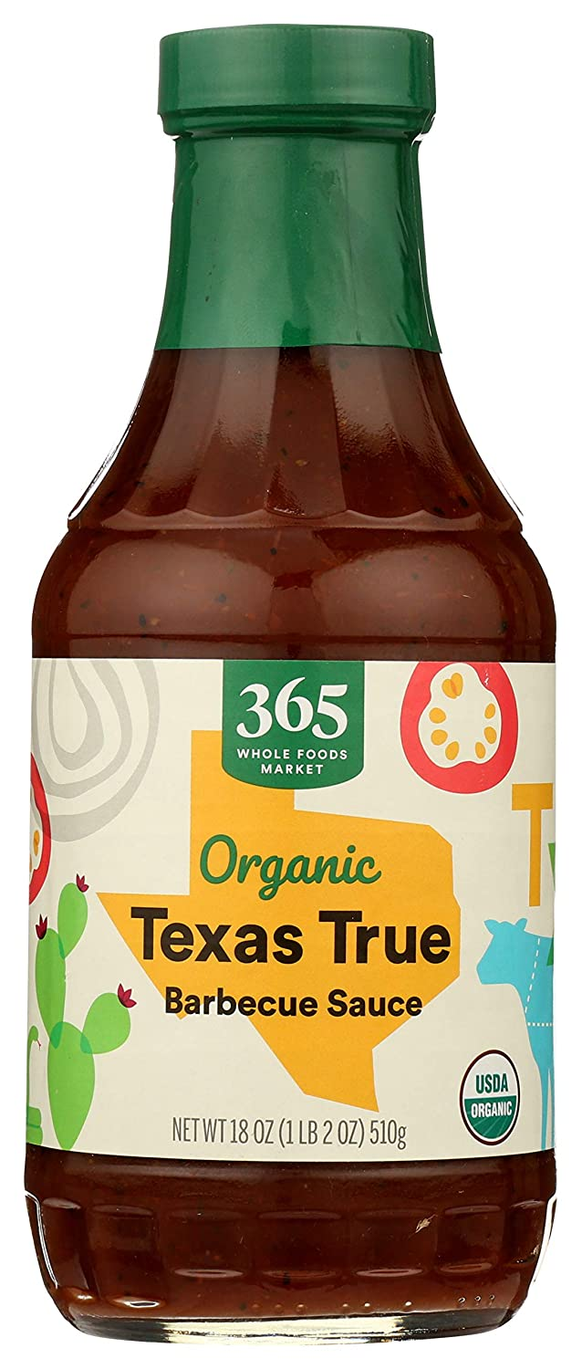365 by Whole Foods Market, Organic Barbecue Sauce, Texas True, 18 Ounce