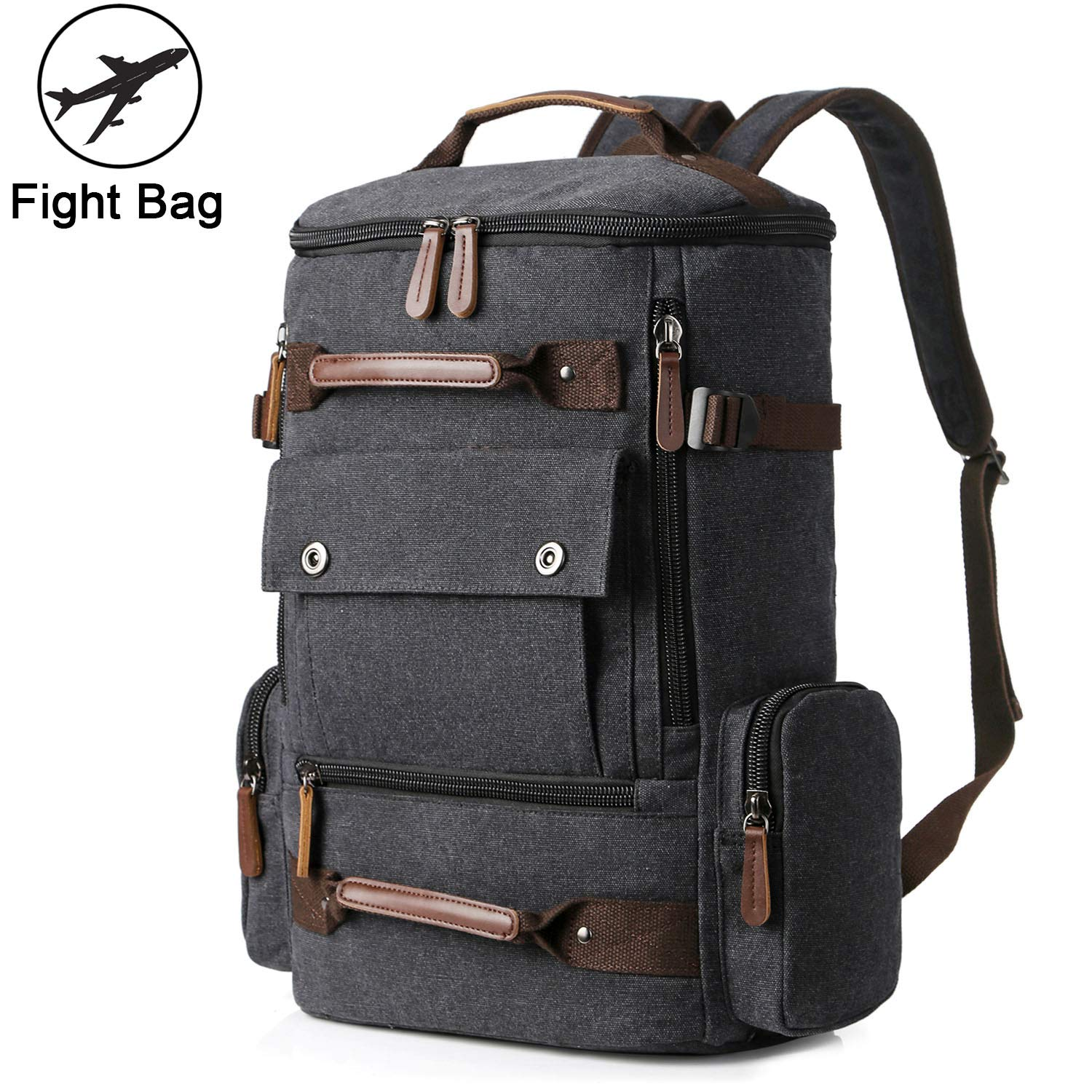 1025db6e20 Amazon.com  Yousu Canvas Backpack
