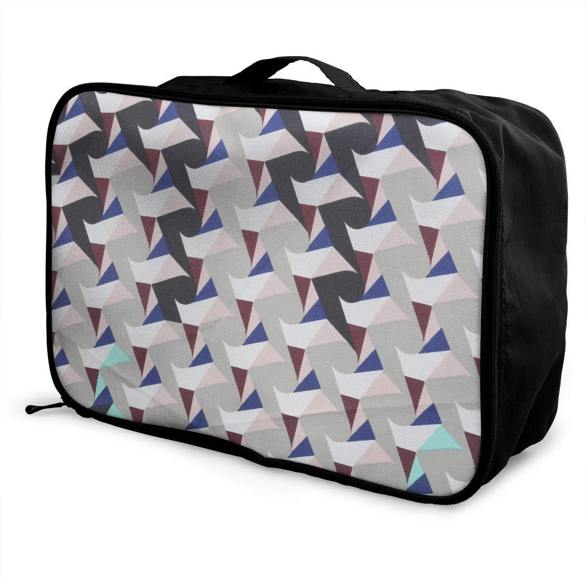 Travel Luggage Duffle Bag Lightweight Portable Handbag Umbrella Pattern Large Capacity Waterproof Foldable Storage Tote