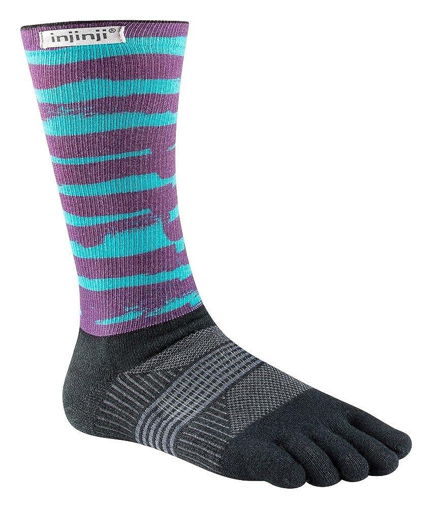 Injinji Women's Trail Midweight Crew Socks 213171-POM-XS/S