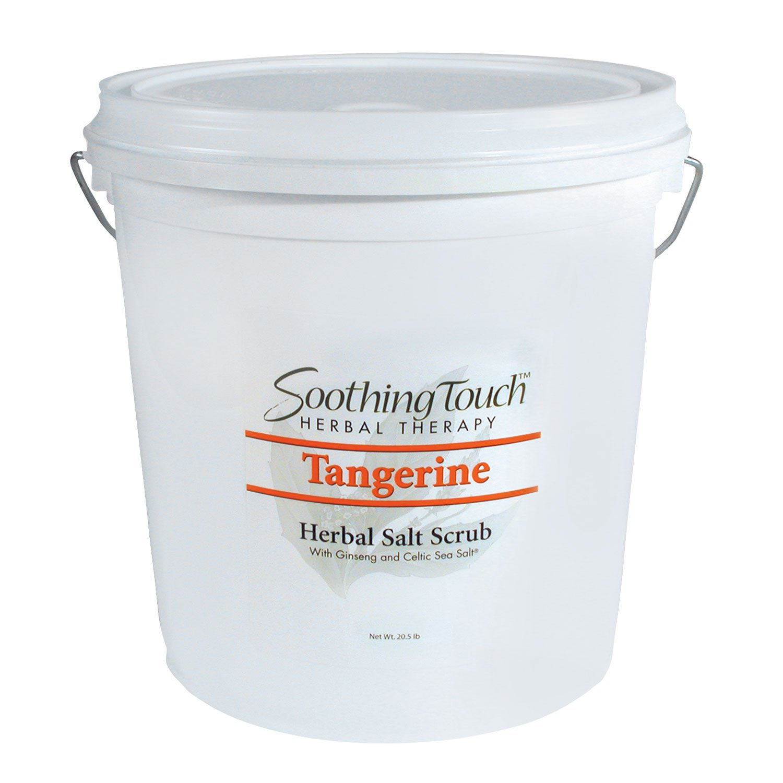 Soothing Touch W67365T20 Salt Scrub Tangerine, 20-Pound
