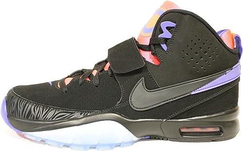 Bo 1 BlackLavaPurple Basketball Shoes