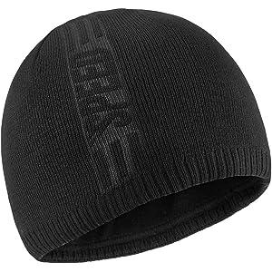607e8829ed4 Bodvera Mens Winter Warm Knit Beanie Hats Tactical Fleece Plain Toboggan Ski  Skull Cap 3 Colors