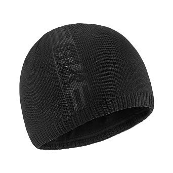 Bodvera Mens Winter Warm Knit Beanie Hats Tactical Fleece Plain Toboggan Ski Skull Cap 3 Colors by Bodvera