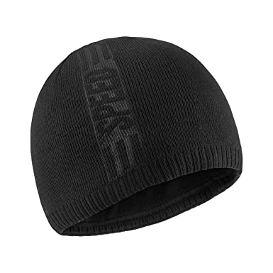 9d397bb20fad6 Bodvera Mens Winter Beanie Knit Hats Slouchy Wool Warm Plain Skull Cuff Toboggan  Knitting Watch Cap