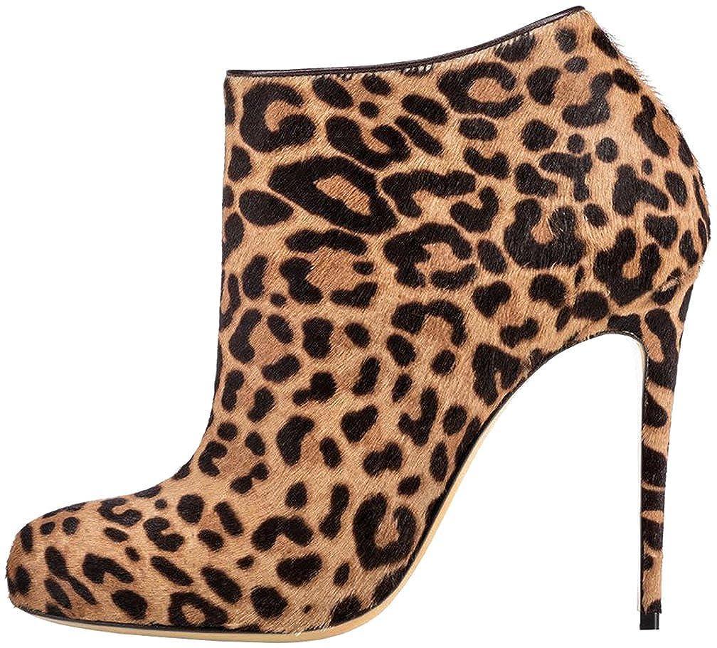 Calaier Damen 11CM Caleft 11CM Damen Stiletto Reißverschluss Stiefel Schuhe 2a5738