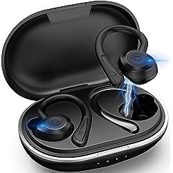 Muzili Auriculares Bluetooth Deportivos V5.0 IPX7