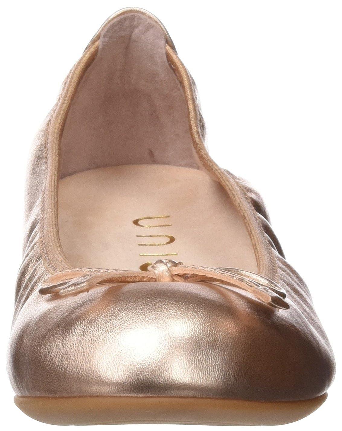 Unisa Damen Acor_17_LMT Geschlossene Geschlossene Acor_17_LMT Ballerinas Gold (Ballet) f7ee9f