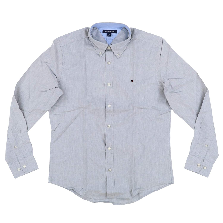 Tommy Hilfiger Mens Custom Fit Long Sleeve Buttondown Shirt At