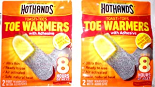 product image for 12 Pairs (24 Individual) Toe Warmers Hothands Brand Toewarmers with Adhesive