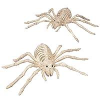 SCS Direct Halloween Skeleton Spider Decorations 10-In. Set 2 Deals