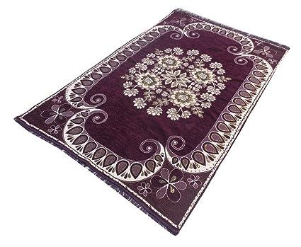 1e1237b883910 Buy KD Sales Velvet Touch Chenille Carpet - ( 5 x 7 Foot)