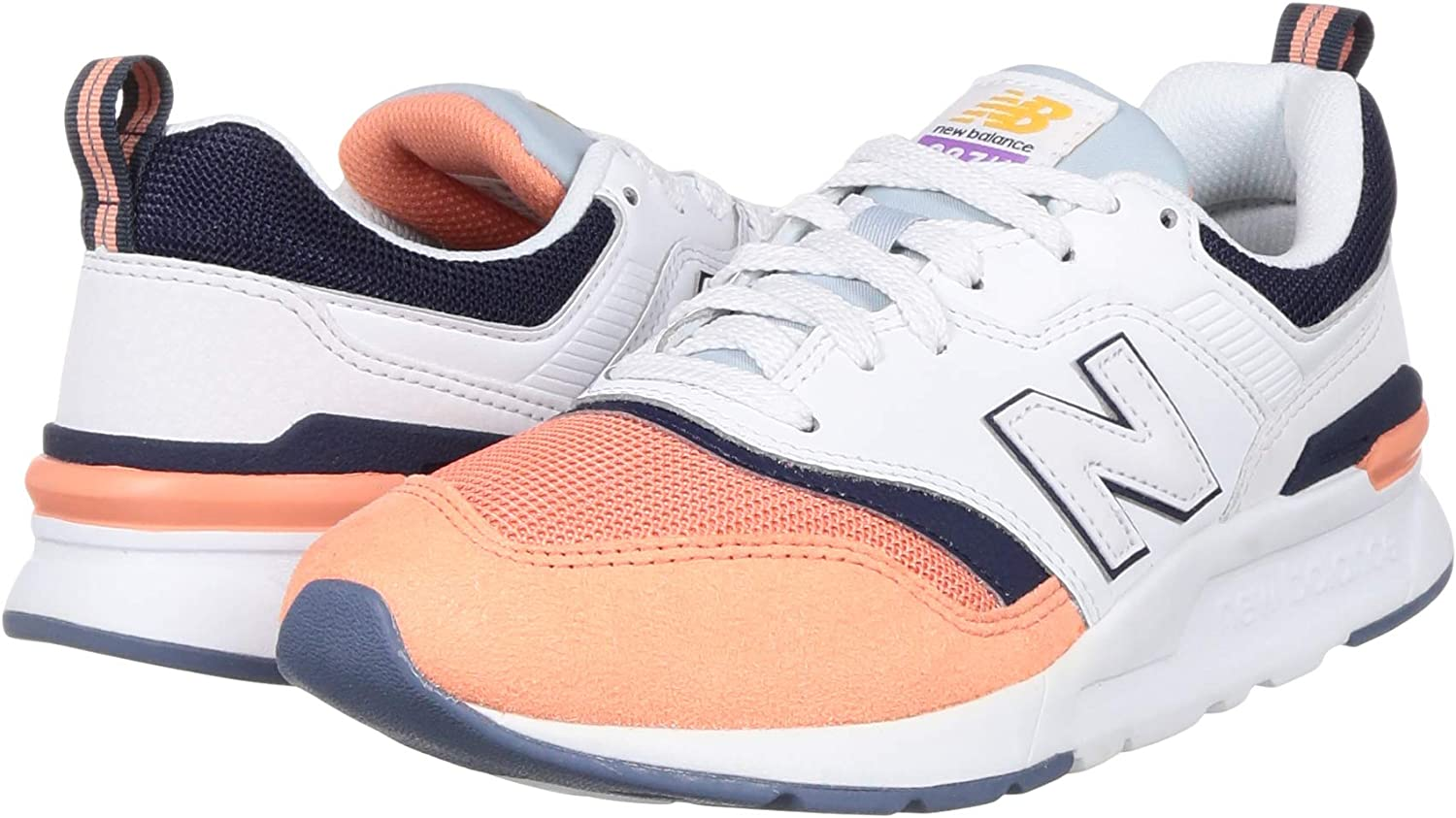 New Balance CW997HBD, Trail Running Shoe Womens, Blanco, 32 EU: Amazon.es: Zapatos y complementos