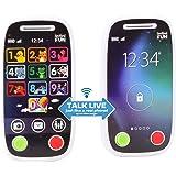 INFINIFUN I18040GI First Phone walkie Talkie, Black