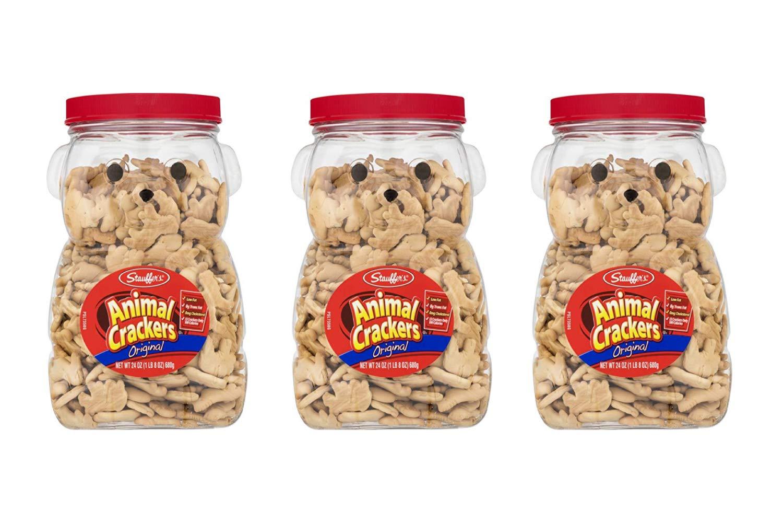 Stauffers Original Animal Crackers 24 oz. Bear Jug (3 Pack)