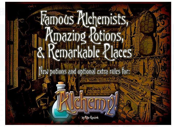 Aviary Games Alchemy! Alquimistas Famosos, Puntas increíbles y ...