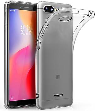 Funda Xiaomi Redmi 6A Ultra Hybrid Funda Transparente, TPU ...