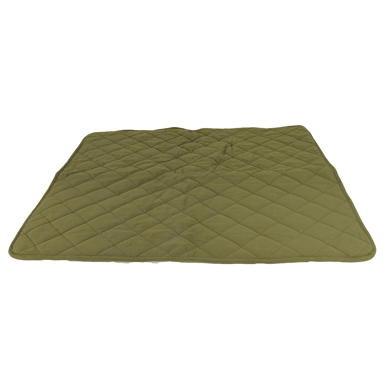 Carolina Pet 02035 Diamond Quilt Microfiber and Cloud Sherpa Throw-Sage-Small