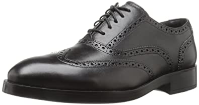 Cole Haan Men's Henry Grand Shortwing Oxford,Black/Black,7 Medium US