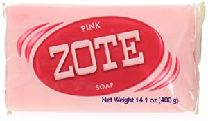 Zote Pink Soap Pack of 3 Total 14.1 oz