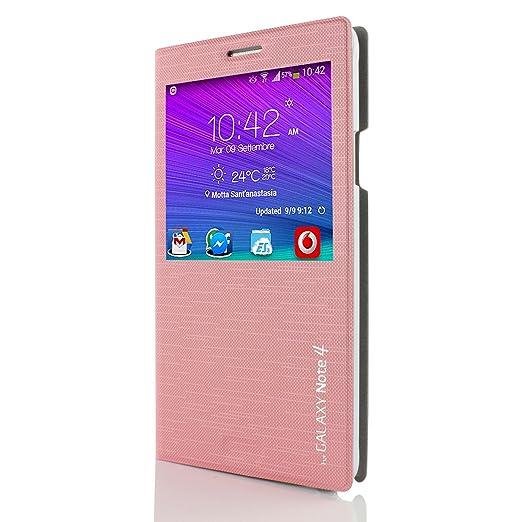30 opinioni per Custodia portafoglio Galaxy Note 4 [ Cross Pattern- Original Urcover® ] Custodia