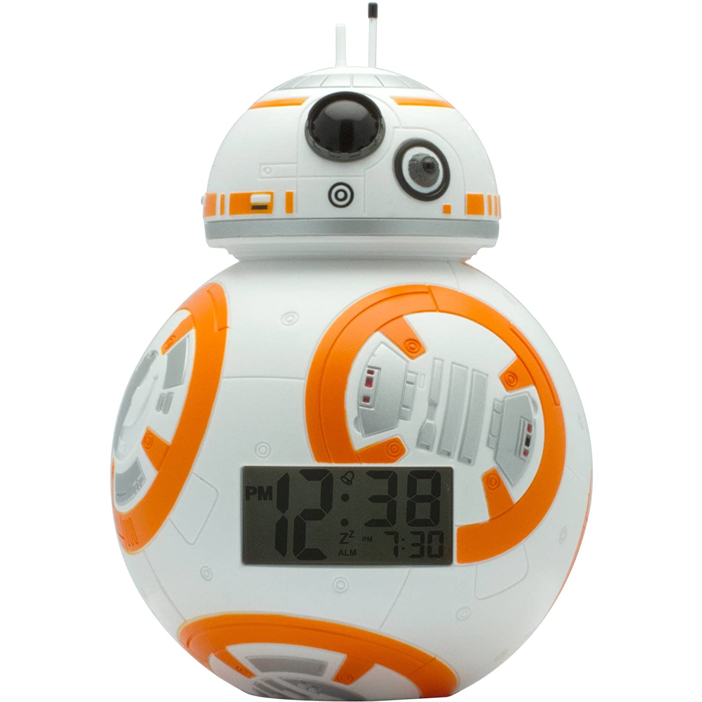 スターウォーズ BB-8 ライトアップ 目覚まし 時計 Star Wars BB-8 Kids Light Up Alarm Clock [並行輸入品] B076TRT23N