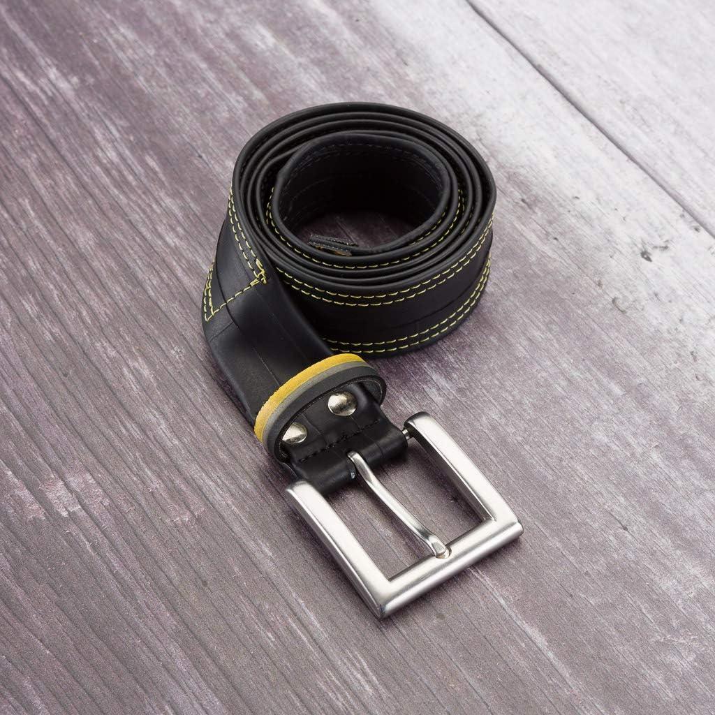 Bike Gift Eco-friendly Stylish Recycled Fashion Upcycled Inner Tube Belt Unisex Belt Waterproof Bike Tube Belt