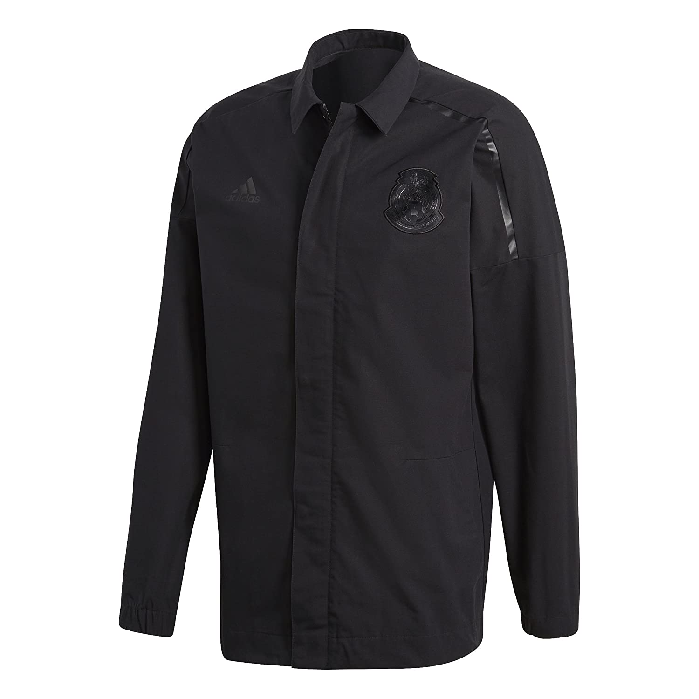 2018-2019 Mexico Adidas ZNE Woven Anthem Jacket (Black) B078T94WZPBlack XXXL 48-50\