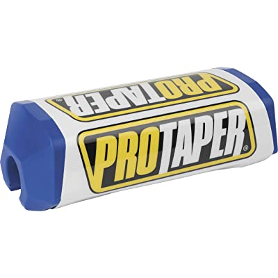 ProTaper Race Line 2.0 Square Handlebar Pads - Blue/White: Automotive