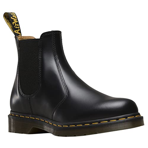 top-rated cheap durable in use new style of 2019 Dr. Martens 2976 Chelsea Boot,Black Smooth