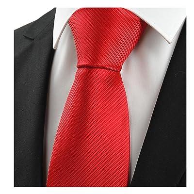 Big red men's tie