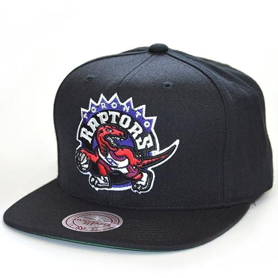 fad9427ab97 Mitchell & Ness Hats Toronto Raptors Snapback Cap - Wool Solid - Black One  Size