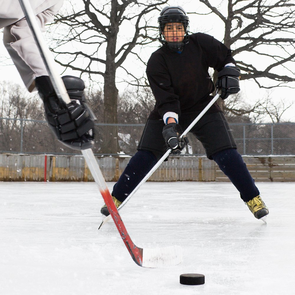 Crown Sporting Goods Ice Hockey Pucks, 6-Ounce