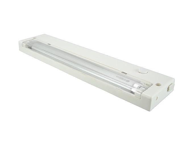 Lampada da ufficio t5 per luce 8 w piatta con interruttore e spina