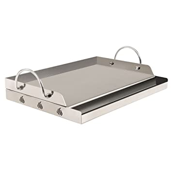 sale uk unique design discount shop Toro universelle en inox plaque de grill rectangulaire BBQ Plancha pour  barbecue