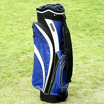 ZXX Bolsa de Golf Lateral Blanca Azul Hombres y Mujeres ...