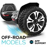 Gyroor Hoverboard Off Road All Terrain Warrior Hoverboards with 8.5 inch Tires, self Balance Hover Board with Colorful…