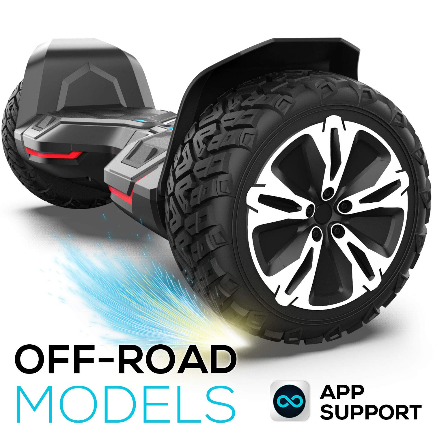 Gyroor Hoverboard Off Road All Terrain Warrior Hoverboards